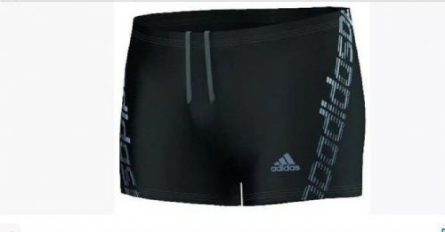 adidas Linear Boxer Swimming Shorts Black BNWT AJ8385 infitex free UK delivery